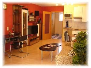 Wohnbereich Appartment Taraba Gästehaus Metzingen